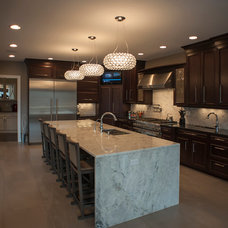 Contemporary Kitchen by Hensley Custom Building Group