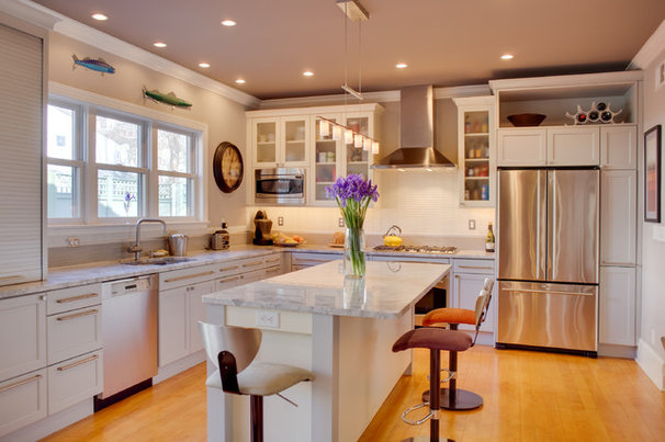 Contemporary Kitchen by Audrey Kerchner