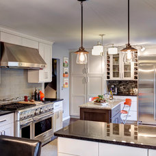 Eclectic Kitchen by Designers Point