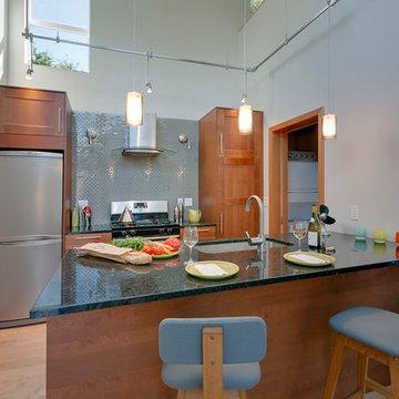 contemporary detached accessory dwelling unit