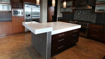 Contemporary Engineered Stone Kitchen