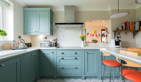 Ideas we Love: 31 Scrumptious Blue Kitchens