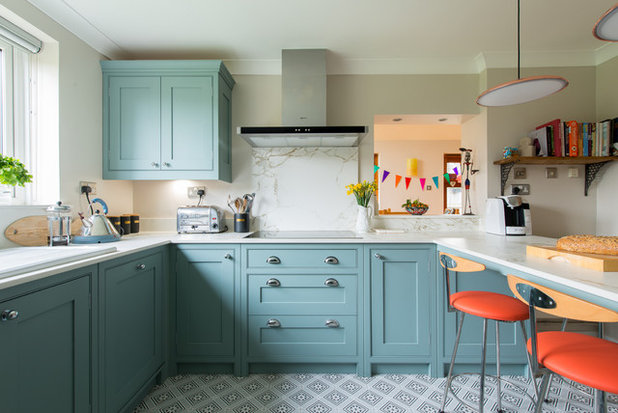 Transitional Kitchen by Herringbone Kitchens
