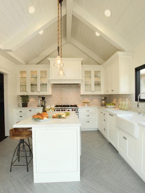top 30 grey wood floor kitchen ideas & remodeling photos   houzz