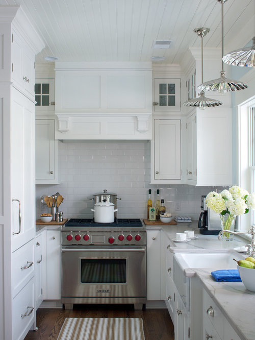 Small u shaped kitchen design ideas remodel pictures houzz for Houzz small kitchens