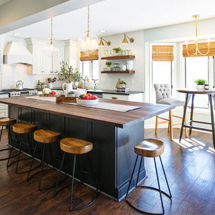 Contemporary Farmhouse with an Eclectic Twist