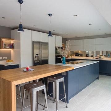 Contemporary Garden Room Kitchen