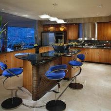 Contemporary Kitchen by Sonora West Development