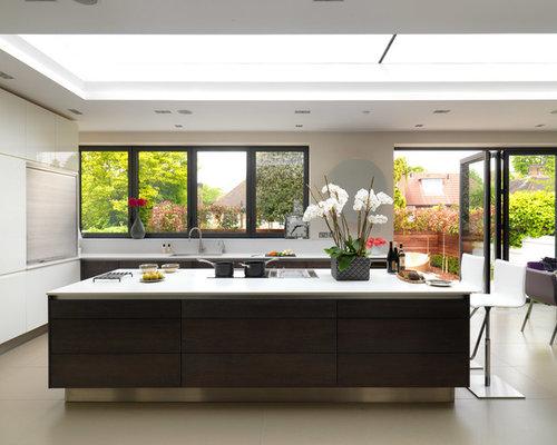 Bi-Fold Kitchen Windows | Houzz
