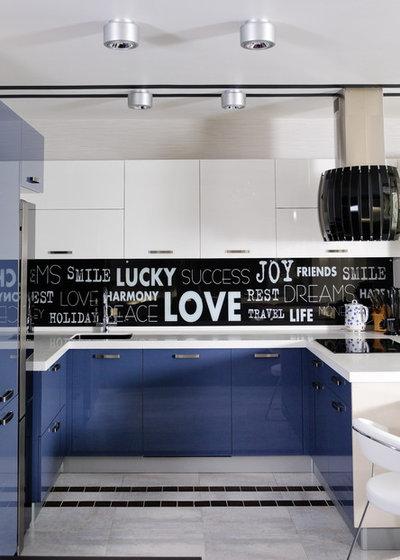 Contemporary Kitchen by Ino Getiashvili