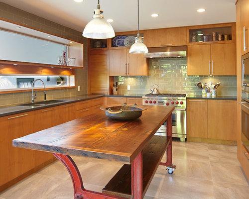 Rustic Kitchen Backsplash Home Design Ideas Pictures