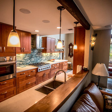 Contemporary home remodel with ADA accommodations