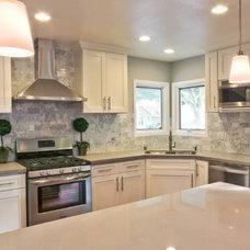 Contemporary Kitchen by Barbara Stock Interior Design