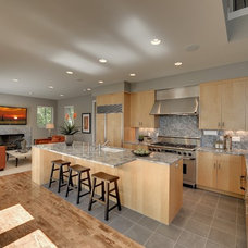Contemporary Kitchen by Spacecrafting / Architectural Photography