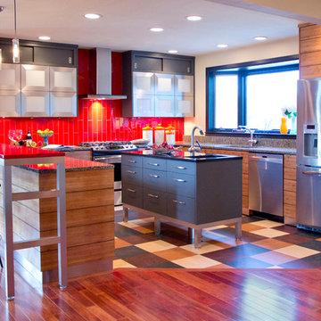 Contemporary Kitchen 2011-12