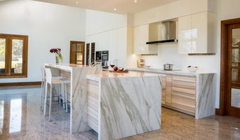 Potomac, MD - White Kitchen With Core Ash Veneer and High Gloss White Lacquer