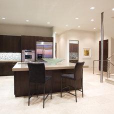 Contemporary Kitchen by abodwell interior design- Brittney Fischbeck