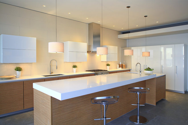 Contemporary Kitchen by abodwell interior design- Brittney Fischbeck