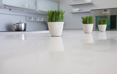 Kitchen Counters:  Stunning, Easy-Care Engineered Quartz