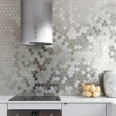 Contemporary Kitchen by ALLOY Solid Metal Tiles