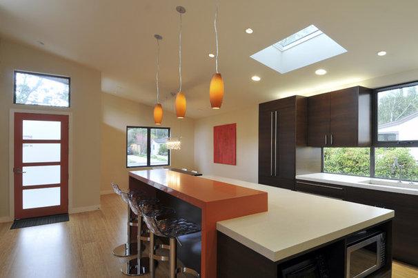 Contemporary Kitchen by Ana Williamson Architect