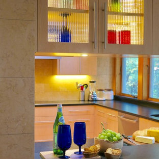 Contemporary Kitchen and Guest Bath