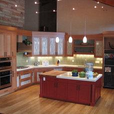 Contemporary Kitchen by Aneka Interiors Inc.
