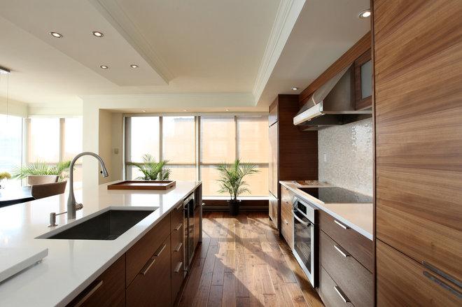 Contemporary Kitchen by Wintrup Developments