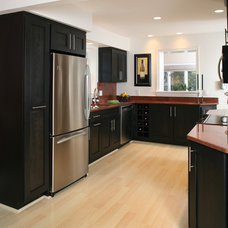 Transitional Kitchen Contemporary Kitchen