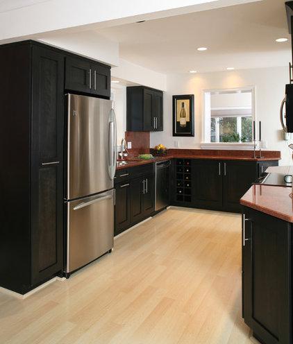 Transitional Kitchen Contemporary Kitchen