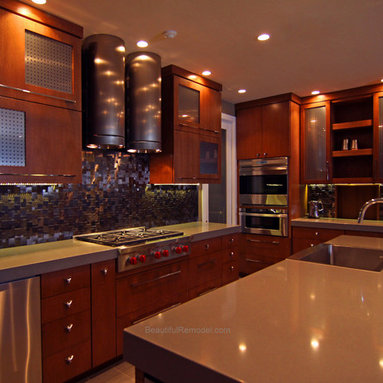 Glass cabinet door inserts design ideas pictures remodel and decor