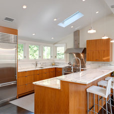contemporary kitchen by Benco Construction