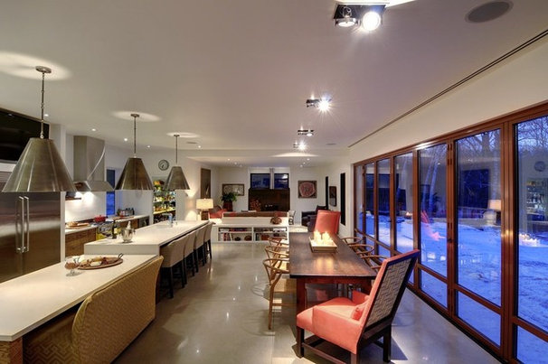 Contemporary Kitchen by Blake Farrow Project Inc.