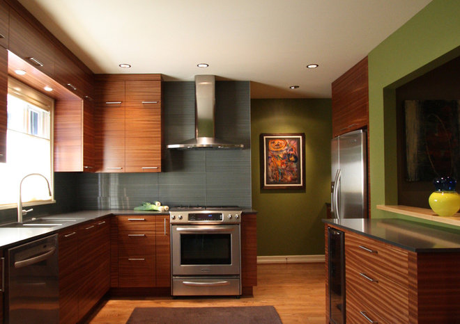 Contemporary Kitchen by bright designlab