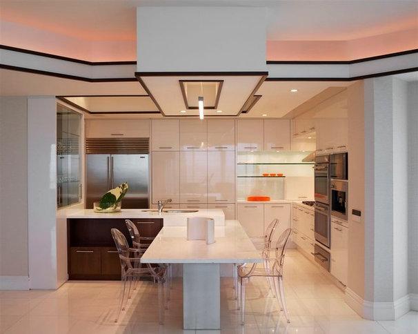 Contemporary Kitchen by Britto Charette Interiors - Miami Florida