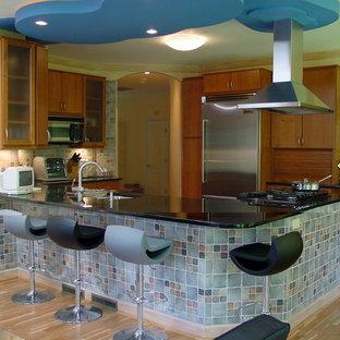 Contemporary Kitchen Cabin John MD