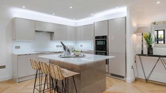 Contemporary Kitchen Calacatta