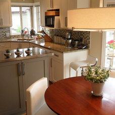 Contemporary Kitchen by Carley Fisher