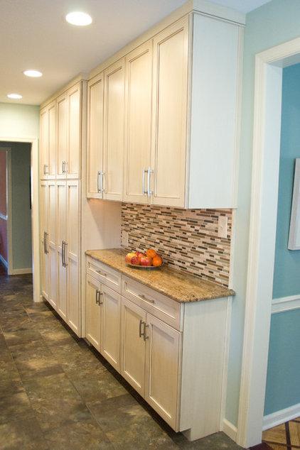 Contemporary Kitchen by Carol Tracy Designs, LLC