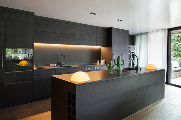 Contemporary Kitchen by Steven Dalton Interior Design