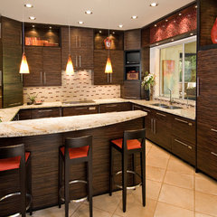 contemporary kitchen by Chimera Interior Design
