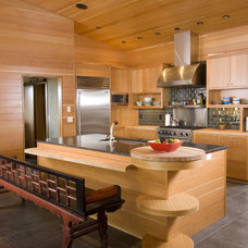 contemporary kitchen by Christian Gladu Design