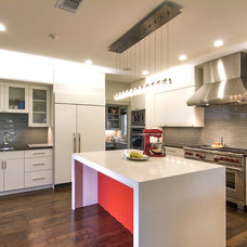 Contemporary Kitchen by Count & Castle Designs