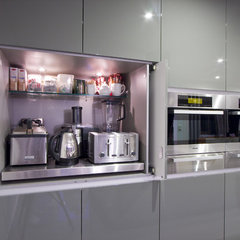modern kitchen by Interiors By Darren James