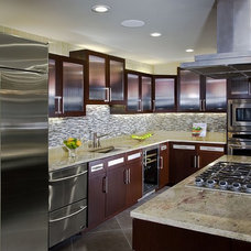 Contemporary Kitchen by Design Focus