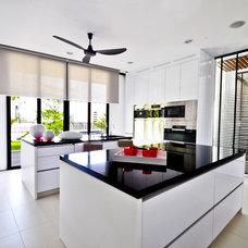 Contemporary Kitchen by DESIGN INTERVENTION