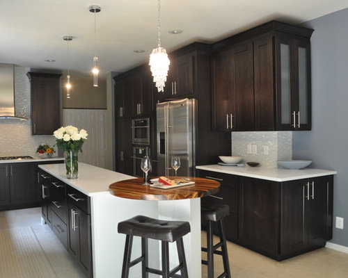 Stained Maple Cabinets Ideas, Pictures, Remodel and Decor