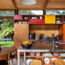 Super Cool Idea: Colourful Kitchen Cabinets, Auckland