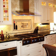 contemporary kitchen by Elaine Morrison Interiors