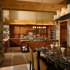 Rustic Kitchen Contemporary Kitchen